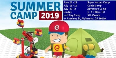 Candy Theme - STEM and Robotics Summer Camp - Half Day Camp - July 15-19