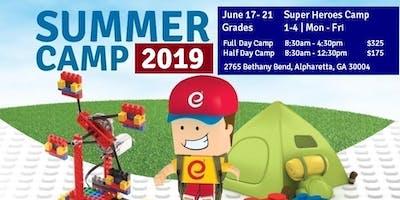 Super Heroes - STEM and Robotics Summer Camp - Half Day Camp - Jun 17-21
