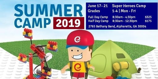 Super Heroes - STEM and Robotics Summer Camp - Half Day Camp - Jun 17-21