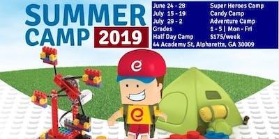 Adventure Theme - STEM Robotics Summer Camp - Half Day Camp - July 29-2