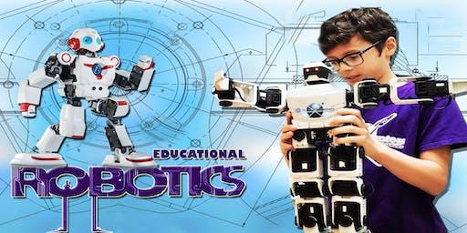 Saturday Course - STEM, Robotics & Video Games (Ages 6 to 18)