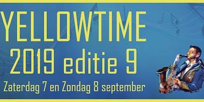 Yellowtime editie 9 op 7 & 8 september 2019