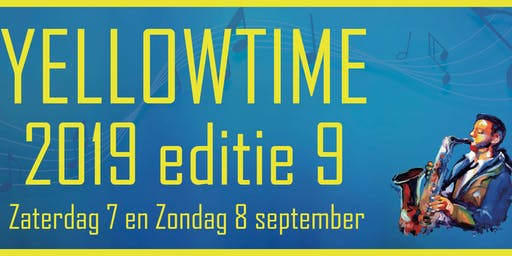 Yellowtime editie 9 op 7 & 8 september 2019