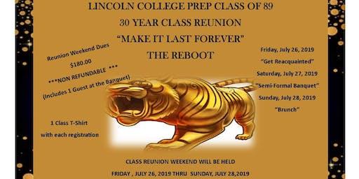 Lincoln College Prep 1989