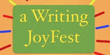 A 3 day Writing Joy Fest tickets