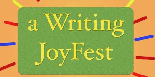 A 3 day Writing Joy Fest