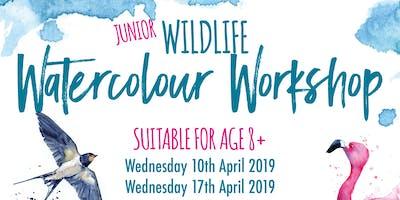 Wildlife Watercolour Workshop - Easter Half Term