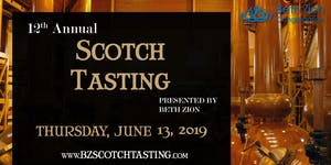 Beth Zion Scotch Tasting 2019