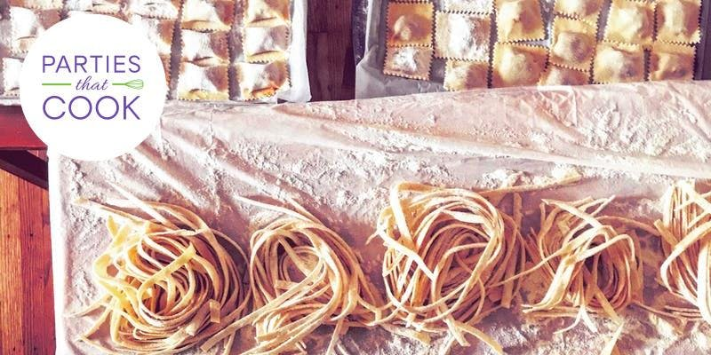 Parties That Cook: Monday Night Homemade Pasta Class (BYOB) - May 20th
