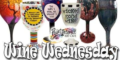 Wine Wednesday Art Pottery Night