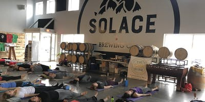 Yoga & Beer at Solace Brewing
