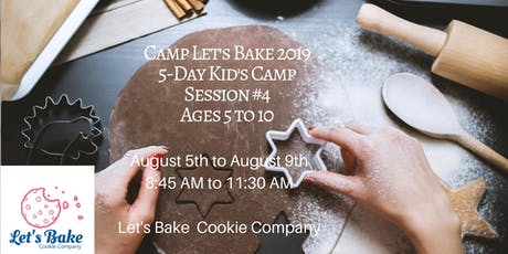 Kid's Summer Camp, Session 4 tickets