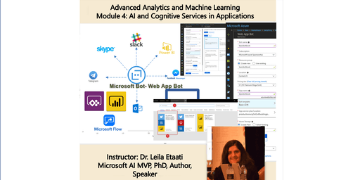 Data Science Training - Module 4: AI and Cognitive Services in Applications - 1-day course, Sydney Australia
