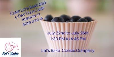 Teen Summer Camp, Session 3: Culinary World Passport