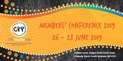 QATSICPP Members' Conference 2019