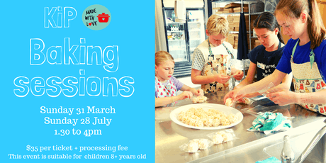 KiP Made with Love Baking Session tickets