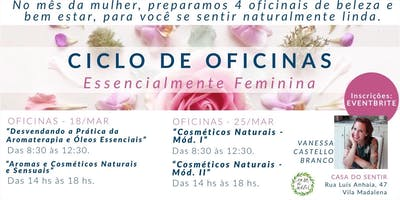 CICLO DE OFICINAS - Essencialmente Feminina