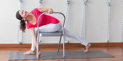 Chair to Mat Yoga Workshop with Joni Dunphey