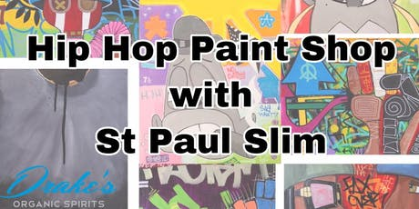 RED-VOLUTION: Hip Hop Paint Shop with St Paul Slim tickets