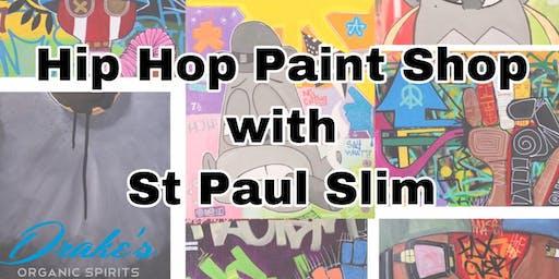 RED-VOLUTION: Hip Hop Paint Shop with St Paul Slim