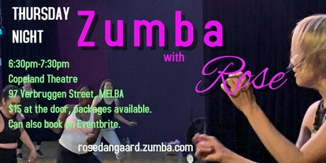 Thursday Night Zumba with Rose tickets