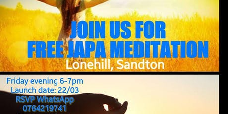 Free Japa Mediation  tickets