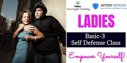 Ladies Basic-3 Self Defense