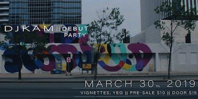 DJ K A M debut party