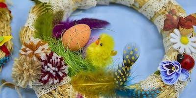 Make a paper Easter egg garland