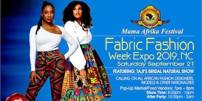 Mama Afrika Festival Expos & Fabric  Fashion Week