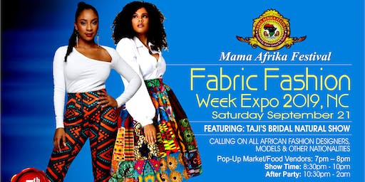 Mama Afrika Festival Expos & Fabric  Fashion Week