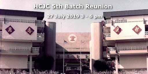 HCJC 5th Batch Reunion