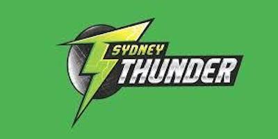 Sydney Thunder Literary Visit