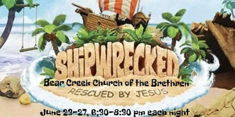 Vacation Bible School - Shipwrecked tickets