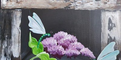 An Evening With Paintergirl~ Lilac Ledge