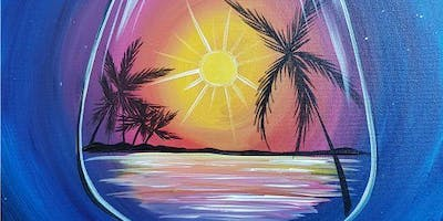 An Evening With Paintergirl~ Yummy Tropics~ TAPAS & Painting