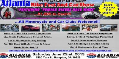 Atlanta Bike Fest And Car Show 2019 - Advanced Early Discount $50.00 Merchandise Vendor Registration