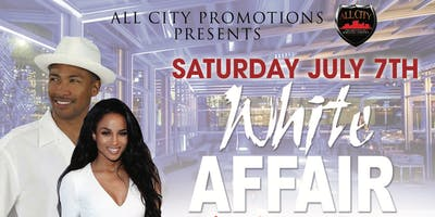 WHITE AFFAIR Friday July 5th 2019