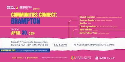Communities Connect Brampton: Music Conferences, Festivals & Networking