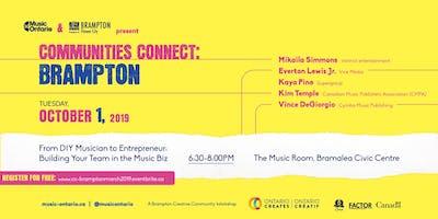 Communities Connect Brampton: Music Publishing, Sync & Licensing