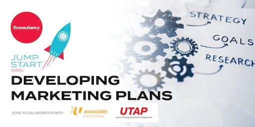 Jumpstart Series: Econsultancy's Developing Marketing Plans