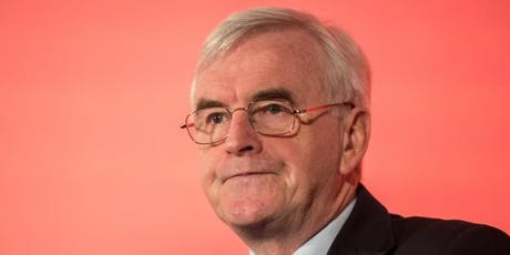 A Q&A with John McDonnell MP, hosted by Jim Cunningham & Coventry South CLP tickets