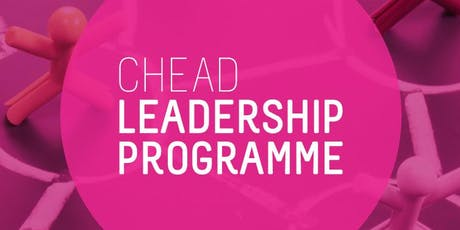 CHEAD Leadership Programme Seminar: Research Leadership tickets