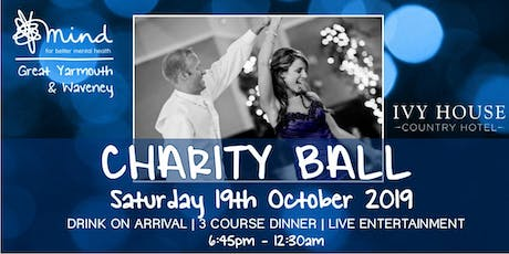 Great Yarmouth & Waveney Mind Charity Ball 2019 tickets