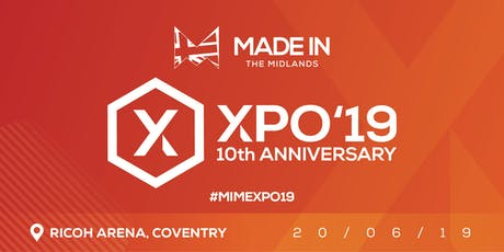 Made in the Midlands Exhibition 2019 tickets