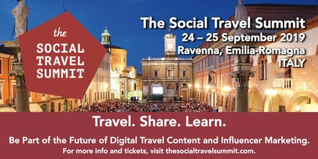 The Social Travel Summit 2019 tickets