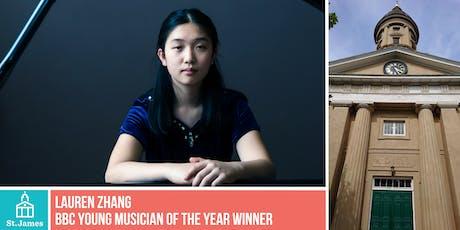 Lauren Zhang - Winner of BBC Young Musician of the Year tickets