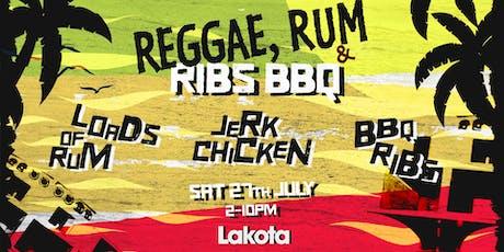 Rum & Reggae BBQ tickets