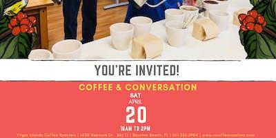 Coffee & Conversation at Virgin Islands Coffee Roasters