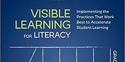 Visible Learning for Literacy (for SIG school leaders, coaches, and teachers)
